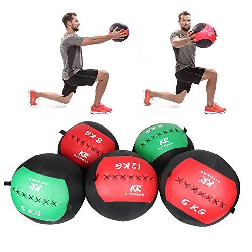 Ryoizen - Pelota de pilates muy ligera, pelota de baloncesto, pelota medicinal, pesa, superficie antideslizante, entrenamiento funcional