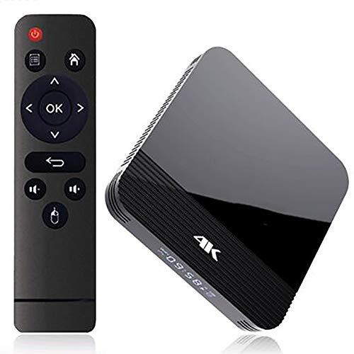 Android 9.0 TV Box pour la Diffusion 2GB RAM 16GB ROM 3D 2.4G 5G WiFi Bluetooth 4.0 Quad Core Décodeur H.265 Streaming Devices Smart Box Lecteur Multimédia
