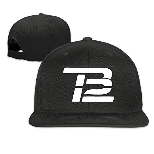 Youaini Tom TB Brady Baseball Adjustable.Fitted Unisex Flat Baseball Cap Black