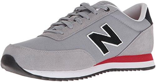 New Balance Men's 501v1 Ripple Sneaker, Steel/Team red, 18 2E US
