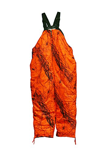 Gamehide Flatland Deer Hunting Bib (Blaze Orange Camo,...