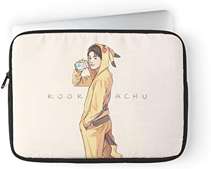 Kookachu BTS Bangtan Jungkook Kpop Laptop Sleeve Case Cover Handbag for MacBook Pro MacBook product image