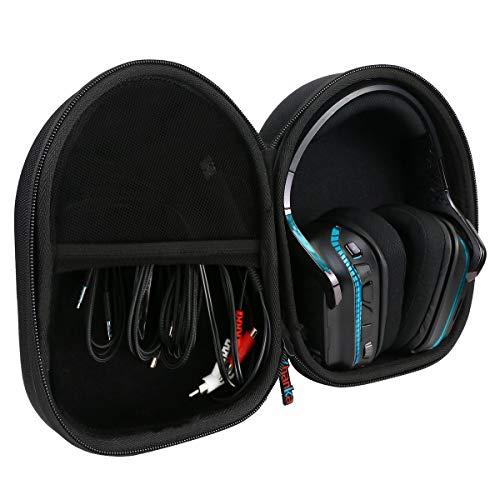 khanka Hartschalenhülle kompatibel mit Logitech G633 G933 Artemis Spectrum Kopfhörer Gaming Headset