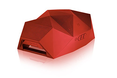 Outdoor Tech OT4200 Big Turtle Shell - Ultra Loud Rugged Bluetooth 4.0 Wireless Boombox & Powerbank (Red)