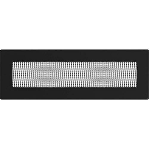 Rejilla de 17 cm x 37 cm Kratki colour negro