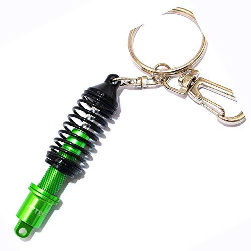 boost-key VmG-Store Gewindefahrwerk Dämpfer Stoßdämpfer Schlüsselanhänger (Schwarz)