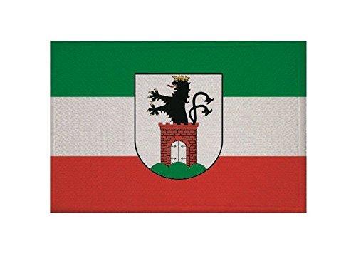 U24 Aufnäher Bergen auf Rügen Fahne Flagge Aufbügler Patch 9 x 6 cm