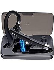 Syllable - Cuffie Bluetooth con microfono integrato, per casa, guida, lavoro, ufficio, colore: Nero