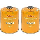 FUMOSA Gaskartuschen Set für Weber Q100/1000-Serien, Performer & Go Anywhere, Ventilkartusche je...