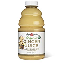 99.7% PURE GINGER JUICE: This healthy drink is the most convenient way to get ginger into your daily diet. A potent juice made from fresh organic ginger that helps soothe the stomach. FLAVORFUL TASTE: Wonderfully powerful organic ginger juice perfect...