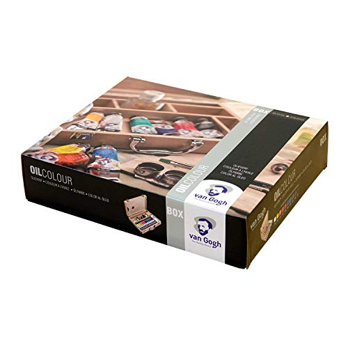 ターレンスヴァンゴッホ油彩木箱セットBASICBOXT0284-0510