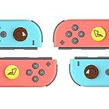 TopACE 任天堂 Switch NS Joy-con対応 L/Rセンサーコントロール(ピカチュウ) キャップ ジョイコンコントロール スティックキャップ 右/左センサーアナログ ジョイスティック カバー ニンテンドースイッチ対応 ロッカーキャップ 親指グリップキャップ シリコン素材 任天堂switch/任天堂switch lite スティックカバー 交換用 4個