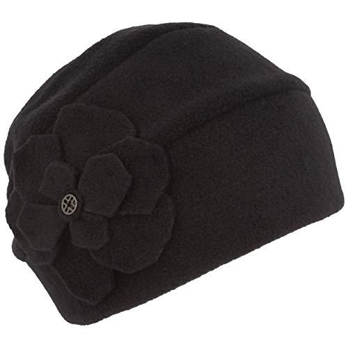 LOEVENICH Damen Winter-Mütze | Fleece-Mütze | Beanie aus weichem Polar Soft Fleece (One Size, Marine)