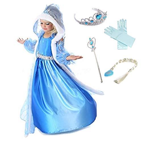 Disfraz de la princesa Elsa de Frozen