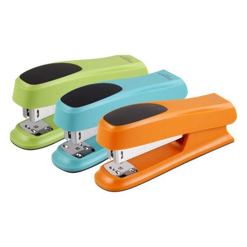 Comix 3 Color Fashion Comfortable Slip Stapler Green/blue/orange (3pcs)
