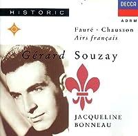 Gerard Souzay Sings Faure & Chausson by Gerard Souzay (1990-11-12)