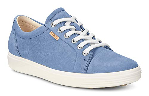 ECCO Women's Women's Soft 7 Sneaker, retro blue, 39 M EU (8-8.5 US)