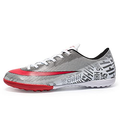 Zapatos de fútbol para hombre Picos de fútbol Zapatos de entrenamiento de microfibra Profesional Zapatos de fútbol deportivo al aire libre Zapatos Unisex Pendientes Atletismo Entrenamiento Zapatos