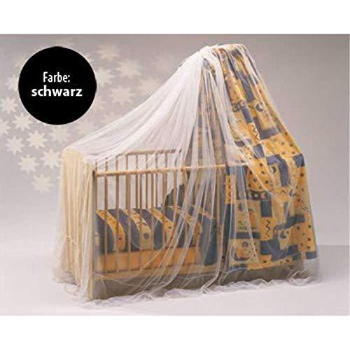 Reer 74856 Moustiquaire pour lit d'enfant Noir