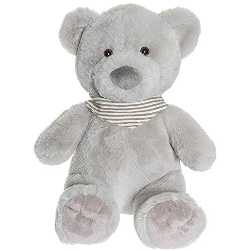 """Teddykompaniet 2898 Teddybär """"Malte"""" grau 35 cm – Plüschtier Kuscheltier für Babys - Stofftier Eco-Friendly - super Soft Oeko-Tex - ab Geburt"""