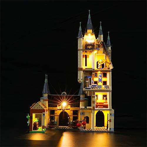 LIGHTAILING Conjunto de Luces (Harry Potter Torre de Astronomía de Hogwarts) Modelo de Construcción de Bloques - Kit de luz LED Compatible con Lego 75969 (NO Incluido en el Modelo)