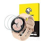 SPGUARD Schutzfolie Kompatibel mit Samsung Galaxy Watch 4 40MM Panzerglas Schutzfolie,(3 Stück)[2.5D,9H Festigkeit] Anti-Kratzen, Hohe Klar Bildschirmschutzfolie für Samsung Galaxy Watch4 40MM