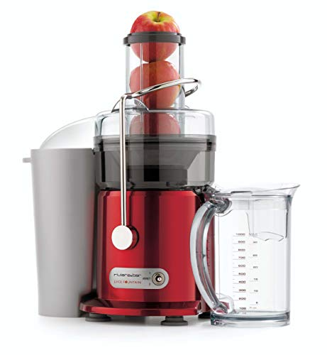 Riviera-et-Bar PR776A7 Centrifugeuse Juice Fountain Rouge