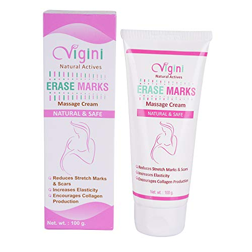 Vigini 100% Natural Actives Stretch Marks Scar removal cream oil in during after pregnancy delivery women,organic Bio Oil for to remove Hyperpigmentation,anti Cellulite,remover scars uneven skin tone