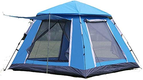 4-5 Personas Automatic Spring Speed Space Open Tent Space Gran Tormenta Gruesa De Lluvia Al Aire Libre Camping Camping Tienda De Campaña Inicio Tiendas De Campaña