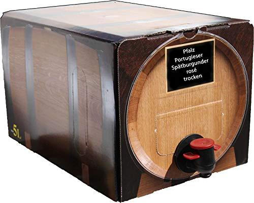 Pfälzer Portugieser/Spätburgunder Rosé trocken 1 X 5 L Bag in Box direkt vom Weingut Müller in Bornheim