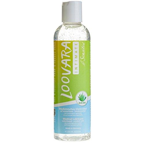 Loovara Olé Olé Aloe – gel lubricante con aloe vera | para pieles sensibles | valor de pH óptimo | solo ingredientes naturales | a base de agua, cuida y protege la flora vaginal