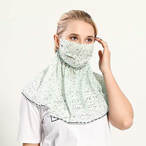 Multifuncional Cuello de Damas Polaina De Cuello Resistente al Viento de Cara Gasa Pañuelo de Mujer para Pueden Usar como Polainas para El Cuello, Pañuelos,