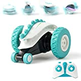 Sinovan Mini RC Cars Stunt Car Toy, 4WD 2.4Ghz Remote Control Car Double Sided Rotating Vehicles 360° Flips, Kids Toy Cars for Boys & Girls Birthday