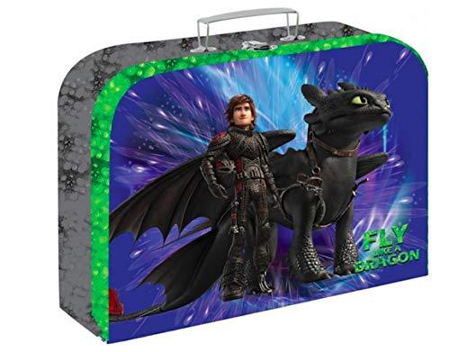 Dragons Drachen How to Train a Dragon Fly Ohnezahn Spielkoffer Kinder Koffer Spielzeugkoffer Bastelkoffer inklusive Sticker von Kids4shop