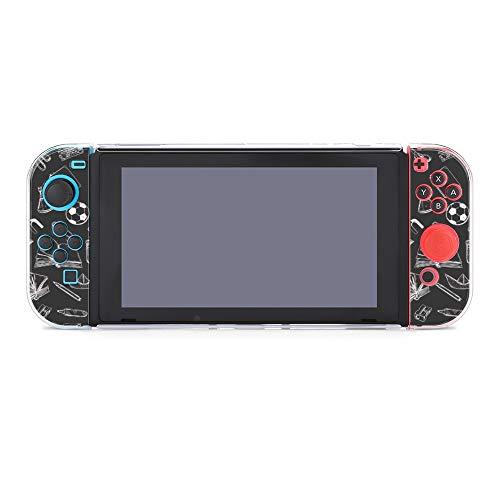 Funda protectora para Nintendo Switch, diseño de espalda a la escuela, funda duradera para Nintendo Switch y Joy Con