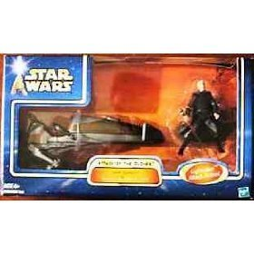 AOTC Darth Tyranus's Geonosian Speeder Bike by Hasbro
