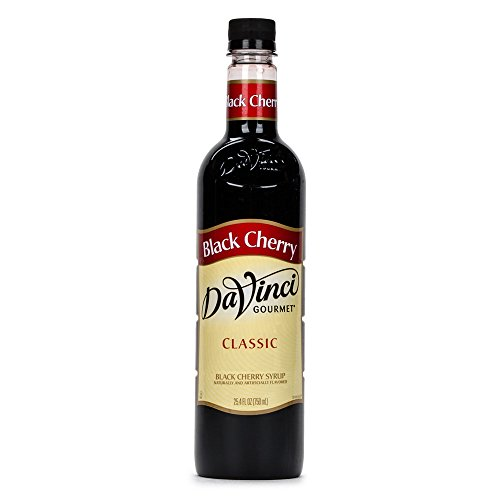 Da Vinci Gourmet 750 mL Black Cherry Classic Coffee Flavoring Syrup