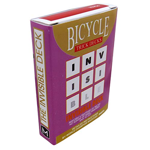 Invisible Deck Bicycle - red