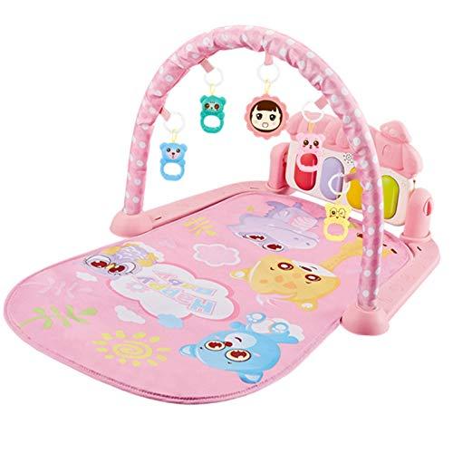 Seii Rainforest Piano Gym Manta de Juego para Bebé Baby Play Mat con música y luces Actividad Gimnasio Bebé Juguete expedient