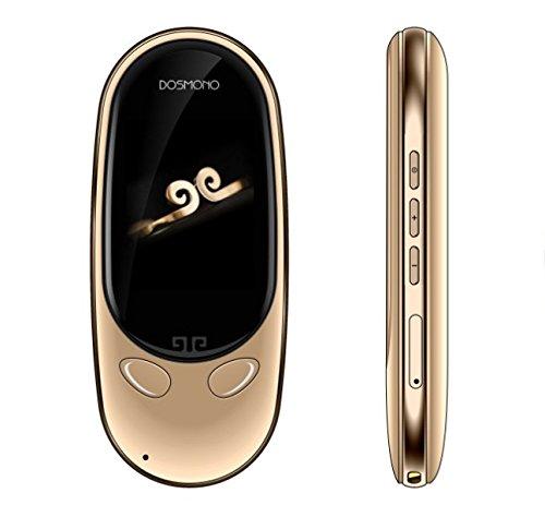 Smart Pocket Mini Language Instant Translator Device, Portable AI Instant Digital Voice Translation Foreign Language Translator, Electronic Recorder Simultaneous Interpretation 72 Languages (Gold)