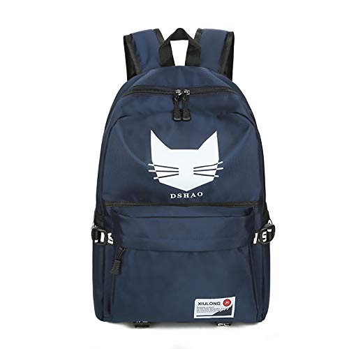 CMZ Backpack Middle School Student Bag Male College Student Bag Backpack Female high School Backpack Couple Bag