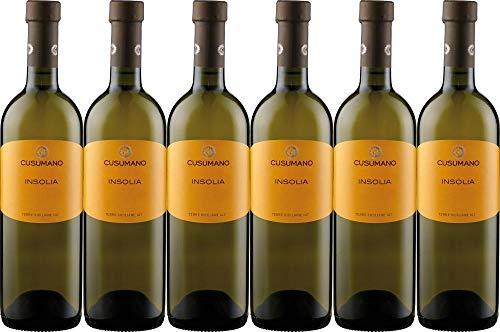 6x Terre Siciliane Insolia 2018 - Weingut Cusumano, Sicilia - Weißwein