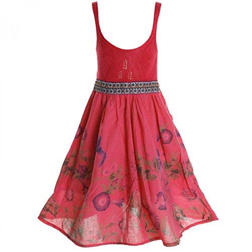 BEZLIT Mädchen Sommerkleid Petticoat 20423 (152/12 Jahre, Dunkelrosa)