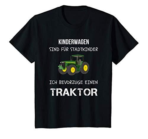 Kinder Landwirt Traktor fahren Trecker Jungen Geburtstag Shirt T-Shirt