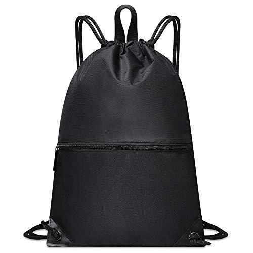 zoka ナップサック エコバッグ ジムサック 防水バッグ 高耐久 持ち手付 軽量 男女兼用 スポーツ プール バッグ 巾着袋