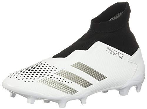 adidas Predator 20.3 Ii Firm Ground Fußballschuh, Wei� (Weiß / Silber / Schwarz), 42 EU Herren