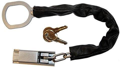 ONVAYA Türgriffkette mit Kratzschutz, Türkette, Türsicherung - OHNE Bohren der Türe