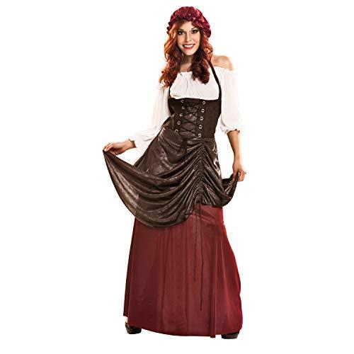 Desconocido My Other Me-201253 Medieval Disfraz de tabernera para mujer, M-L (Viving Costumes 201253)