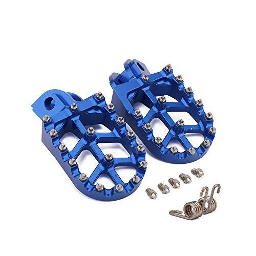JFG RACING Piquetas CNC para motocicleta todoterreno, pedales para beta X-TRAINER 15-18, RR 4T 350-500 10-18, RR 2T 125-300 13-19