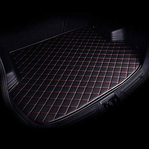 JKBDNB Luggage Compartment Liner, Leather Protective Pad For Kia All Models Rio Sportage Cerato K2 K3 K4 K5 Carnival, Trunk Mats, Load Compartment Protective Mat, Car Trunk Protection Accessories